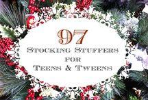 Stocking Stuffers / by Jennifer Edsall