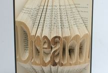 Upcycled books and vintage pages / by Mary Wade