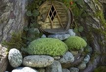 fairy-houses,gardens / by Mary L Puffenbuger