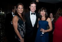 Gglassquerade at the Lookingglass Theatre / Stephen Colbert received the 'Lookingglass Civic Engagement Award' at the Lookingglass Theatre's 2013 'Gglassquerade'. (Info: http://bit.ly/1lmRGFa) / by Colbert News Hub