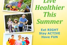 Healthy Summer Pledge  / Sign our Healthy Summer Pledge for free recipes, tips and resources to help you round out your summer and start fall on the right foot. / by American Diabetes Association