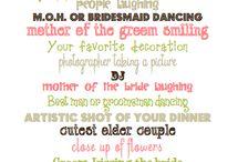weddings / by Monique D'Alimonte