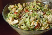 Salads & Lettuce Wraps / by Bobbie J.