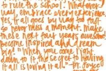 Dear College... / by MoreLoveLetters