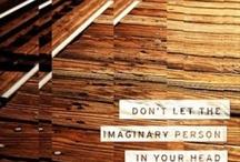 Quotes / by Elizabeth Krhovsky