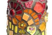 Arte con Botellas Cristal / Plástico / Botes Metal / Cristal / Jarrones  / by maria pico marin