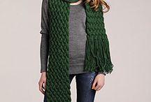 Crochet Scarfes / by Art Gluttony
