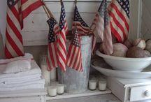 U.S.A. / by Cheryl Hughes