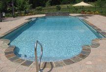 Swimming pools / by Rhonda White