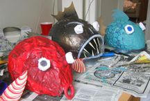Sea monster costume! / by Laurie Rourke-Korpi