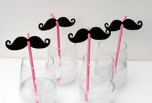 Black and White Mustache party / by Sabra Palmer
