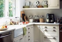 Our Barn House kitchen ideas / by Mandy McGee