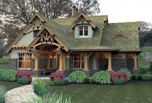 Storybook Cottage / Fairy tale houses. / by Audry Taylor