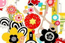 fabrics / by Mary Eustace