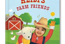 My Farm Friends Personalized Book / Your child will love exploring all the animals on the farm with this adorable personalized board book. Upload an image of your child and see his or her smiling face incorporated into every spread! / by I See Me! Personalized Children's Books