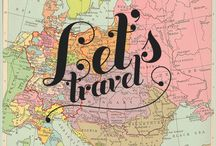Places I'd Like to Go / places I would to travel to sometime in my life / by Debi J Adomeit