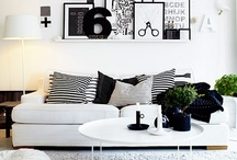 ••black and white home•• / by Nulka