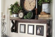 Fireplace & mantle ideas / by Annette Gibson