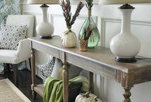Entryway Decor Ideas / by Jenna Miller