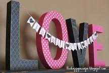 valentines day crafts / by Lisa Pribula