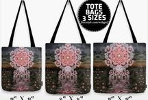 BAGS { products} / Various sizes/ types of bags including Tote bags, Shoulder Bags, Cosmetic Bags, Wallets, Travel Wet bags, Messenger Bags / by Webgrrl.Biz