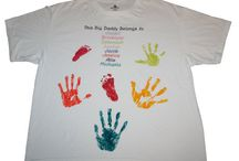 DIY PAINTING T SHIRTS / Do this for end of the year shirt for school. / by Kim Griggs
