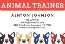 Pets + Animals Designs / Are you in the Pets + Animals industry? If so, we've got the perfect design for your business! Matching documents include business cards, appointment cards, postcards and rack cards. / by 123Print – Personalized Online Printing