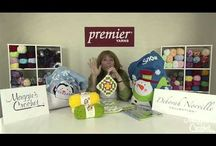 Premier Yarns Videos & Events / A collection of events and videos where Maggie's Crochet has been sponsored by Premier Yarns. / by Maggie's Crochet