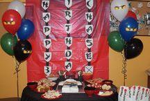 Ninja birthday party / by Daisja Edwards