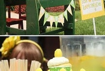 Lemonade Stand Ideas / by Holly - Paisley Petal Events