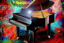 #**MUSIC** / PIN ANY STYLE MUSIC  NEW BOARD add anyone u want   / by Suzan Borden