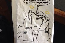 Daddys's Lunch Bags / by Lee Bonner