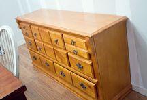 Redoing furniture / by Trisha Frey