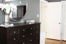 Bedroom redo / by Stephanie Deahl