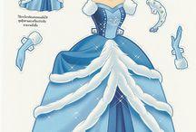 DOLS: Paper: Disney / by Assol Grin