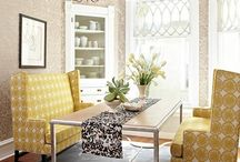 Dining room ideas / by Monica Cook