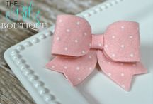 Felt / Shabby Clips / by The Ritz Boutique