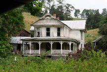 ABANDONED..houses,buildings / by Delaine Millward