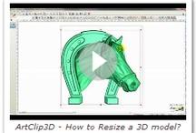 3D Features of ArtClip3D / by ArtClip3D, 3D Carving Software