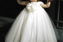 Baby girls tulle dress / by Lynn White-Huggins