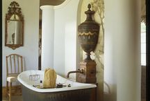 Baths & Powder Rooms / by Tamra Alexander Cook / The Gilded Barn