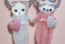 Chenille Ornaments / by Susan Shockley