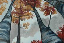 Painting Ideas / by Rebekah Poe
