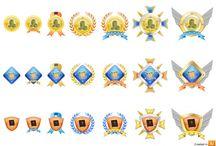 awards icons / by Johana Barretto