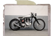 Motorcycles and cycles / Motos, bikes, any type of stock, custom, naked or crazy motorbikes I loved across the web. / by Bastien Roger - Film director