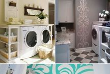 Laundry Rooms / by Andrianna Linder