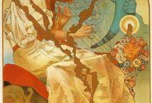 Alphonse Mucha / by Sy Tyson