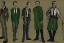 Hamlet Costume Designs by Jeremy W. Floyd / Costume Designs for our upcoming production of Hamlet / by Notre Dame Shakespeare Festival