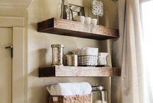 Home | Bathroom Space / by Tabitha Blue / Fresh Mommy Blog