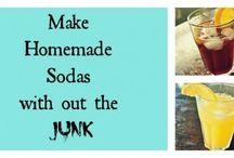Sodastream Soda Syrup recipes / by Rhea Howarth